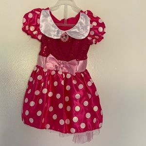 Girls 3t Minnie Mouse costume dress
